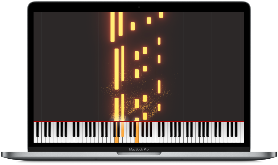 Piano Visualizer - Bring your piano music to life